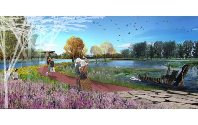 江苏东湖湿地公园_上海泽柏景观设计有限公司
